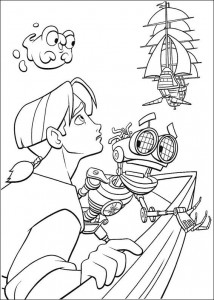 coloring page Pirate planet (11)