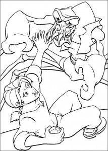 coloring page Pirate planet (13)