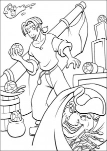 coloring page Pirate planet (14)