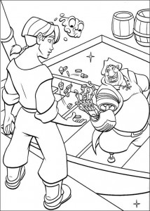 coloring page Pirate planet (15)