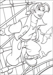 coloring page Pirate planet (18)