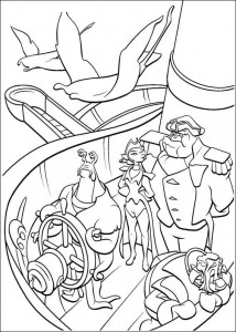 coloring page Pirate planet (19)