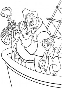 coloring page Pirate planet (21)