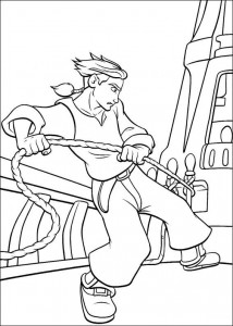 coloring page Pirate planet (22)