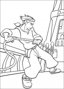 kleurplaat Piratenplanet (22)