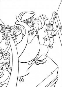 kleurplaat Piratenplanet (3)