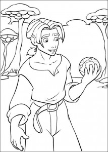 coloring page Pirate planet (33)