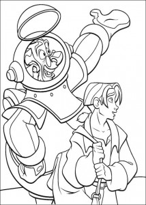 coloring page Pirate planet (35)