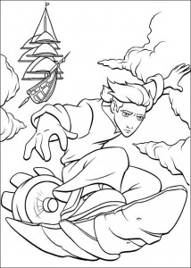 coloring page Pirate planet (4)