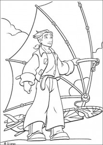 coloring page Pirate planet (41)