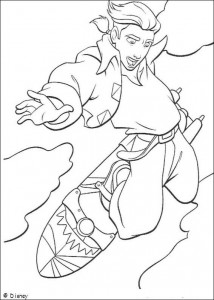coloring page Pirate planet (42)