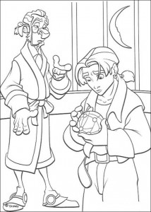 coloring page Pirate planet (47)