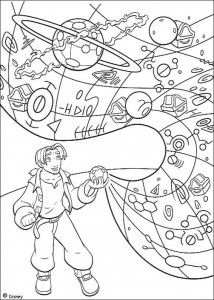coloring page Pirate planet (48)