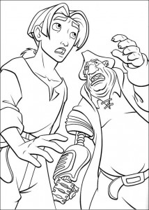 coloring page Pirate planet (5)