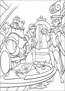coloring page Pirate planet (51)