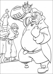 coloring page Pirate planet (53)