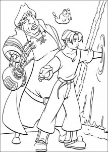 coloring page Pirate planet (56)