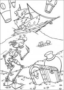 målarbok Piratplanet (58)