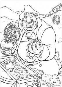 coloring page Pirate planet (59)