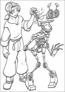 coloring page Pirate planet (63)