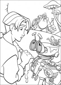 coloring page Pirate planet (9)
