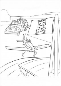 coloring page Planes (12)