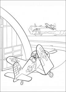 kleurplaat Planes (13)