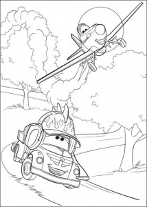 coloring page Planes (15)