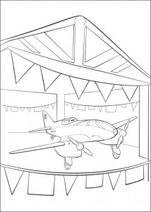 kleurplaat Planes (16)