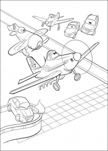 coloring page Planes (18)