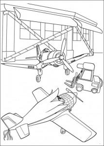 kleurplaat Planes 2 (18)
