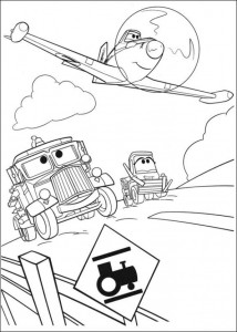 coloring page Planes 2 (21)