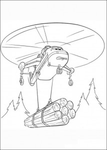 coloring page Planes 2 (27)