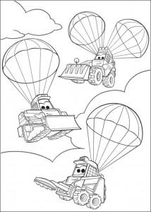 kleurplaat Planes 2 (33)