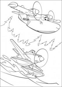 kleurplaat Planes 2 (39)