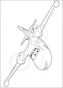 kleurplaat Planes 2 (48)