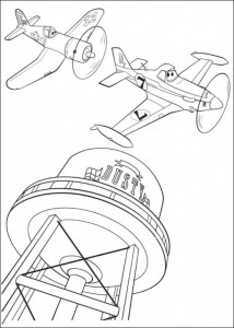 coloring page Planes 2 (5)
