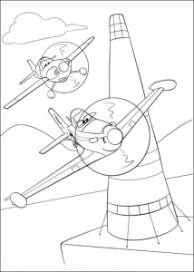coloring page Planes 2