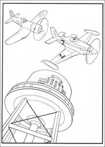 kleurplaat Planes 2 (6)