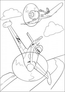 coloring page Planes 2 (7)