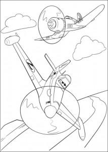 kleurplaat Planes 2 (7)