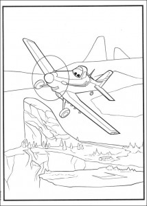 coloring page Planes (2)