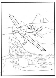 kleurplaat Planes (2)