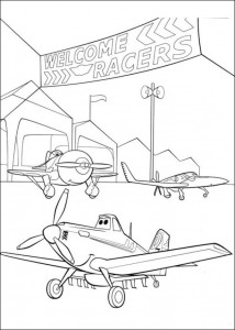 coloring page Planes 3