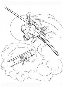 coloring page Planes (3)