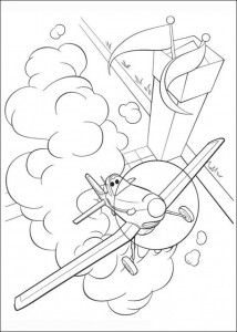 coloring page Planes (4)