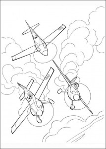 coloring page Planes (9)