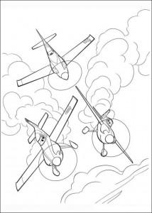 kleurplaat Planes (9)