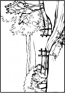 coloring page Countryside