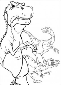 coloring page Platvoet and his friends (12)